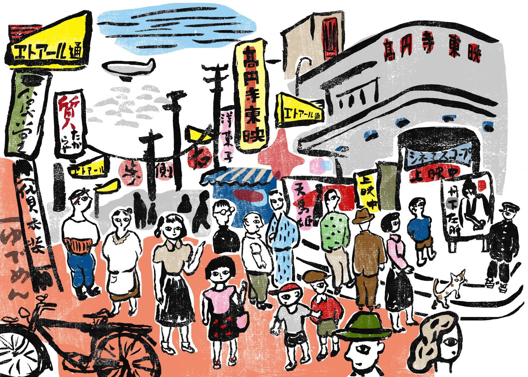 「高円寺エトアール物語」エトアール通り商店会を舞台に短編小説刊行!