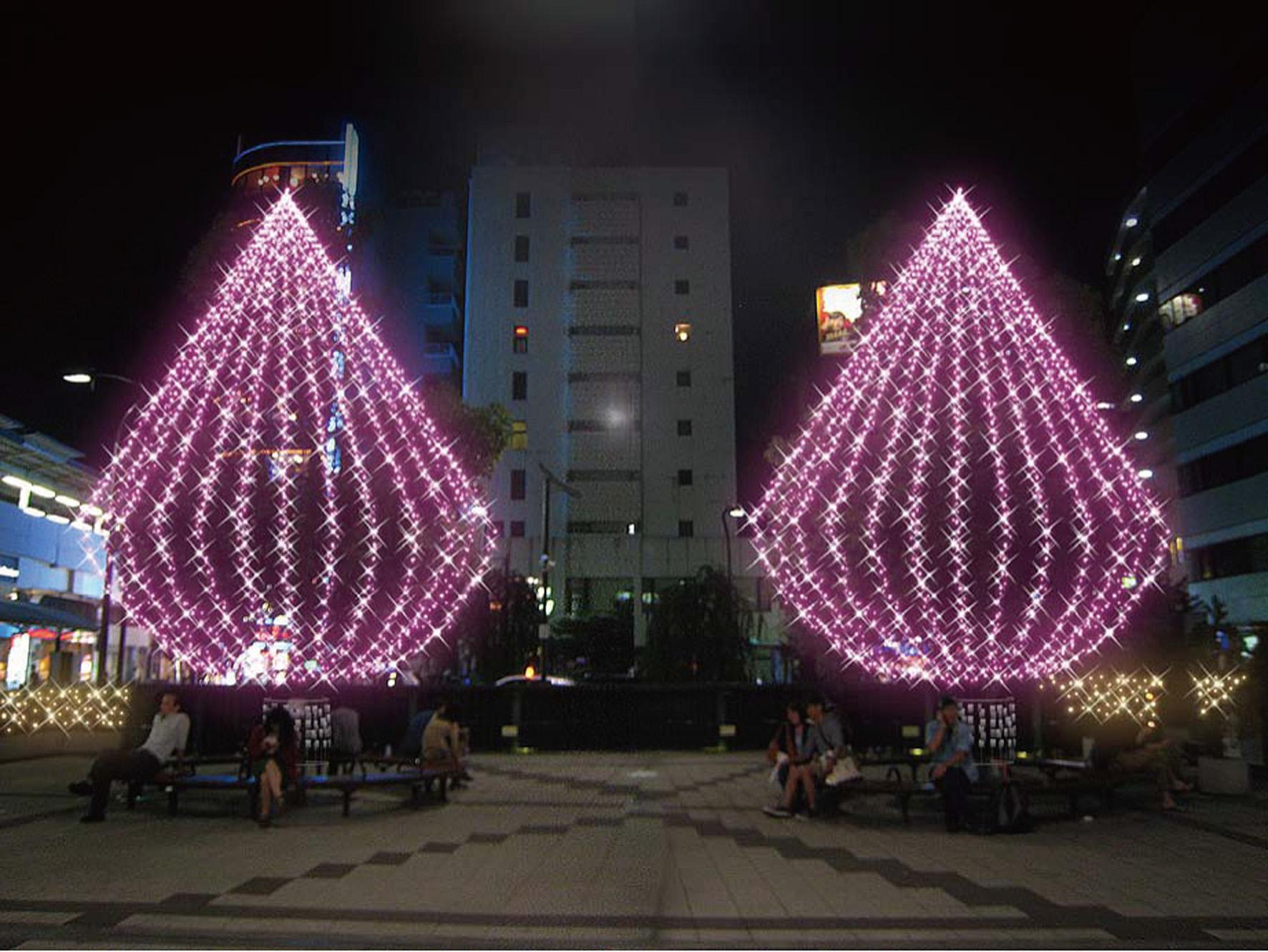 高円寺南口広場でイルミネーション点灯式が開催されます